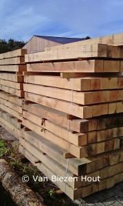 balken eikenhout