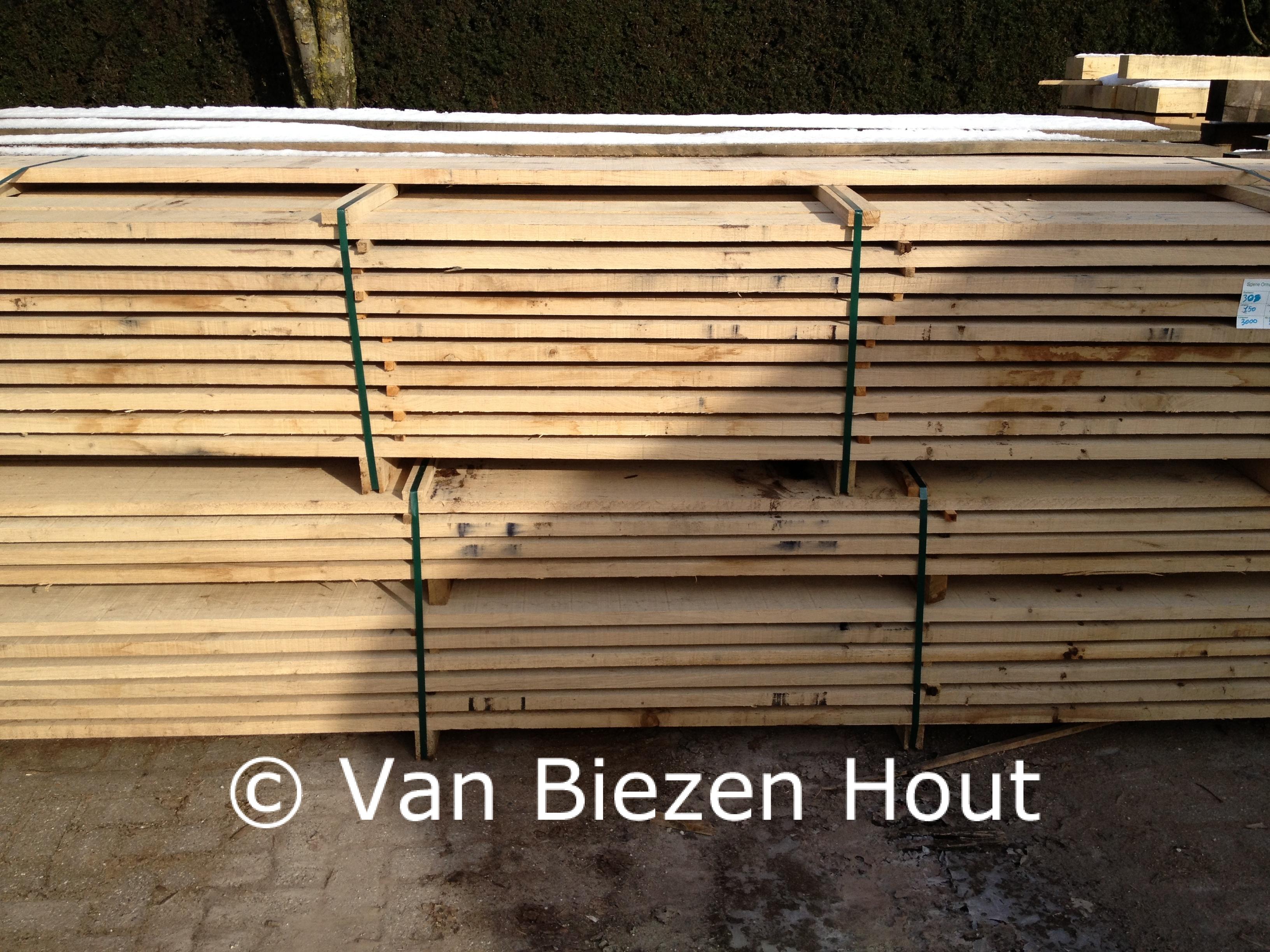 Eiken planken gedroogd eiken houten balken
